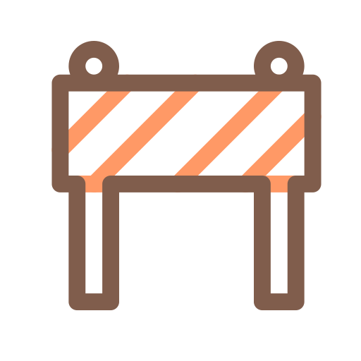 Roadblock 1, 1, And Icon
