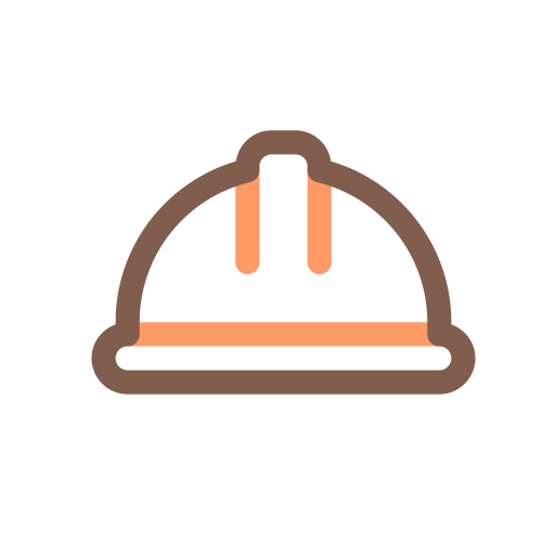 Safety Hat, Safety, Security Icon