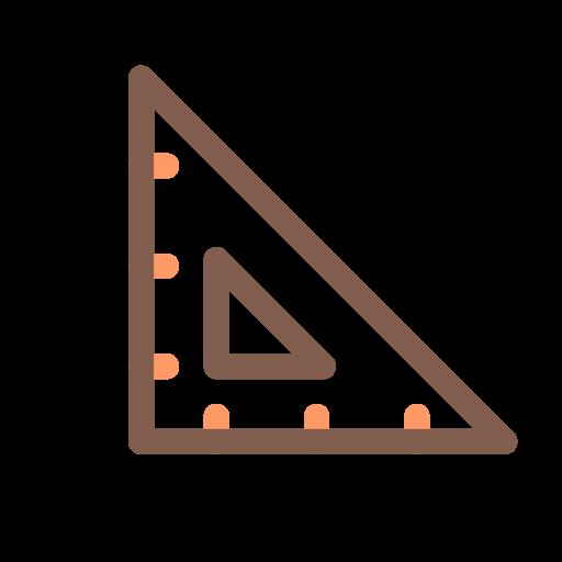 Triangular Ruler, Ruler Icon