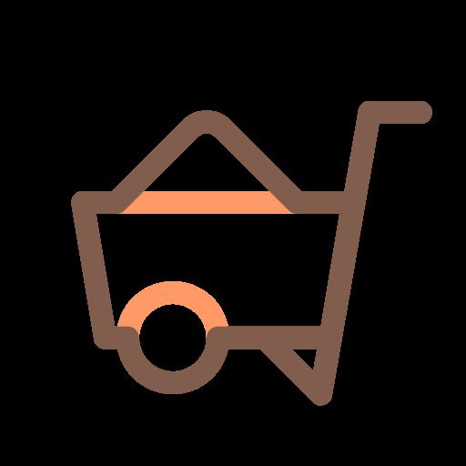 Trolley, Wheel Barrow, Wheelbarrow Icon