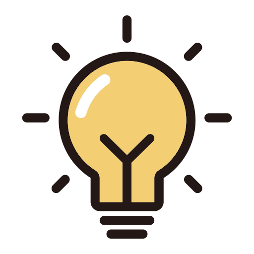 Light Bulb:, Bulb Light, Idea Icon