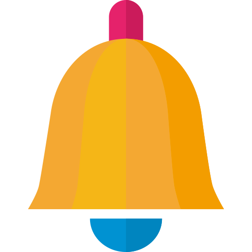 Small Bell, Bell, Christmas Icon