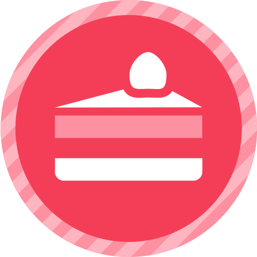 Cake West, Cake, Cake With Candle Icon