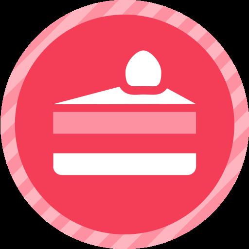 Cake West, Cake, Cake With Candle Icon