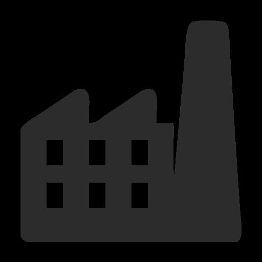 Manufacturer, Building, Buildings Icon