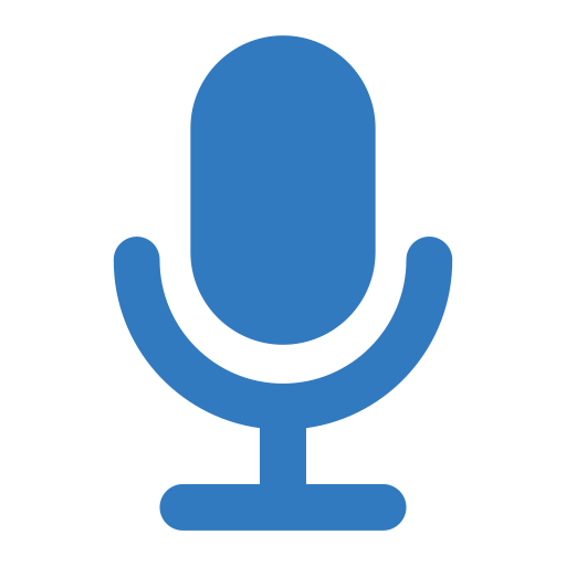 Microphone, Recorder, Sound Icon