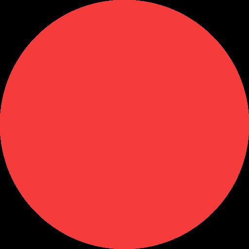 Red Dot, Dot, Dots Icon