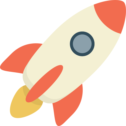 Rocket, Exquisite, Fill Icon