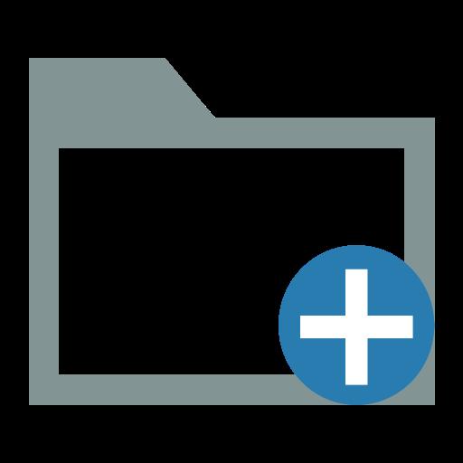 Add-folders-file-add-to Icon