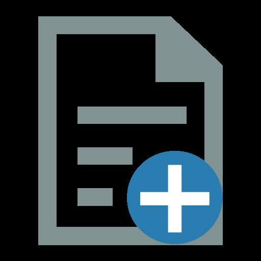 File Add, Add File, File Icon