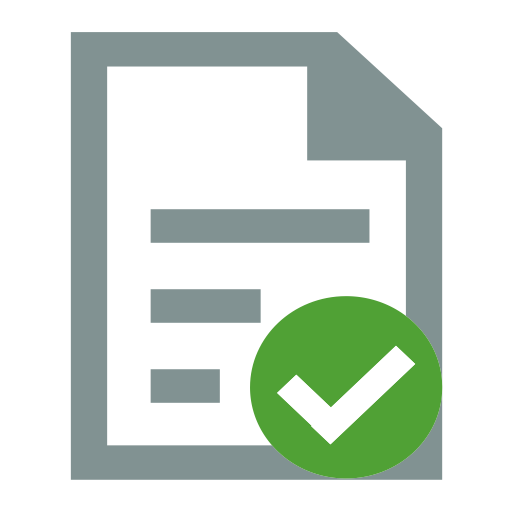 File Selected, File, Format Icon