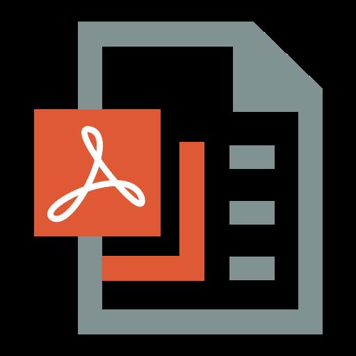 Pdf, Icon, Office Icon