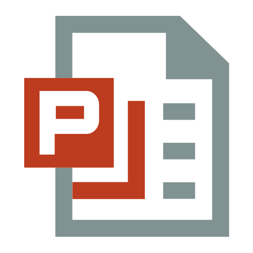 Ppt, Office, Icon Icon