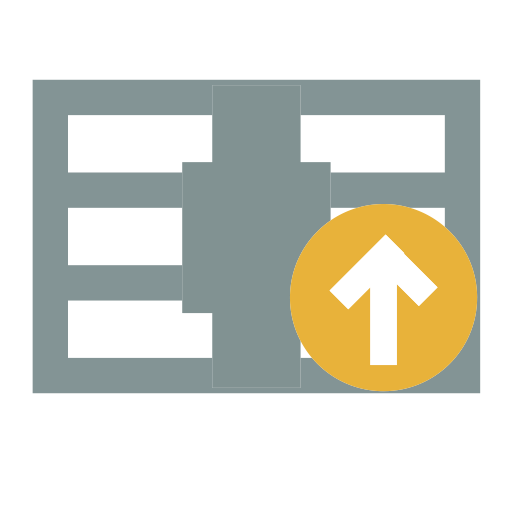Upload Compression Package, Compression, Document Icon