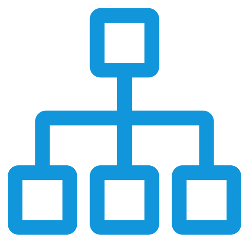 Raxicon  Organizational Management, Management, Marketing Icon