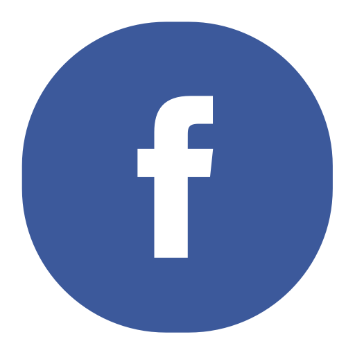 Facebook, Fill, Flat Icon