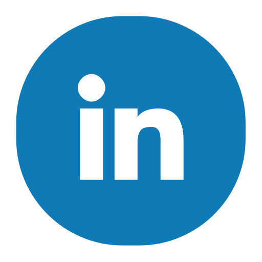 Linkedin, Fill, Flat Icon With PNG and Vector Format for Free