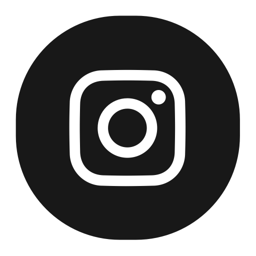 Instagram, Fill, Flat Icon