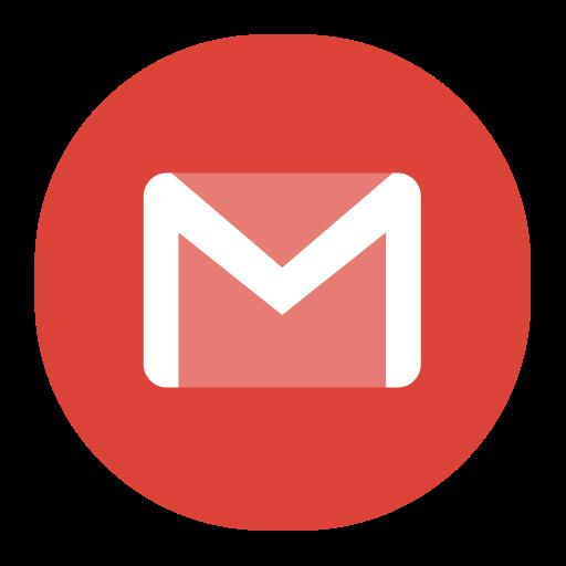 Gmail, Fill, Flat Icon