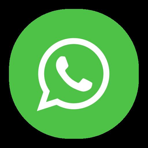 Whatsapp, Fill, Flat Icon