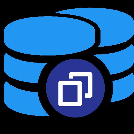 Data Set Backup, Data Backup, Data Recovery Icon