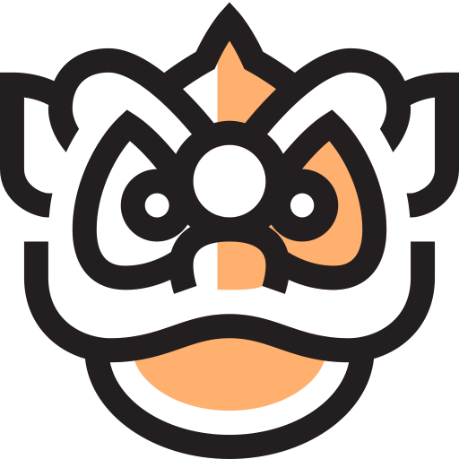 Chinese Lion Icon