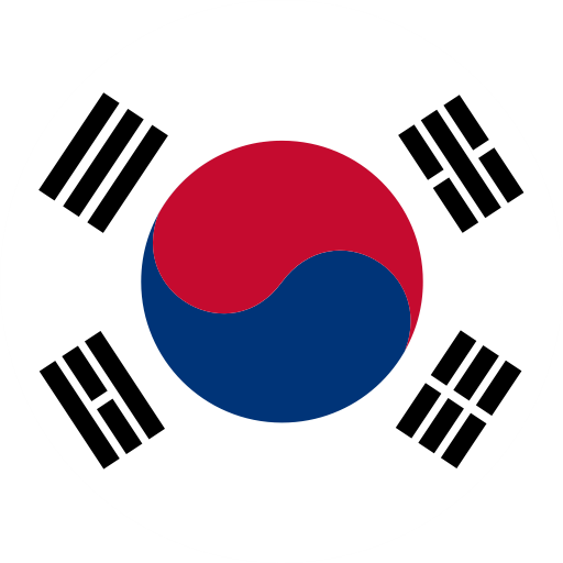 Korean Flag, Flag, Mark Icon