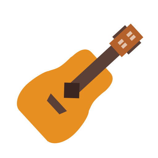 Acoustic Guitar, Fashion, Guitar Icon