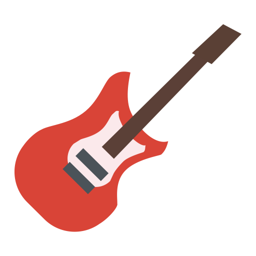 Electric Guitar, Guitar, Music Icon