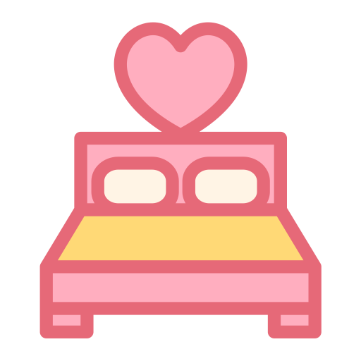 Bed, Decoration, Furniture Icon