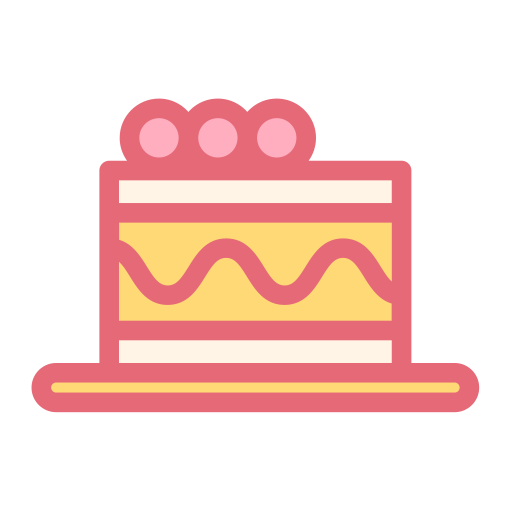 Cake, Celebration, Heart Icon