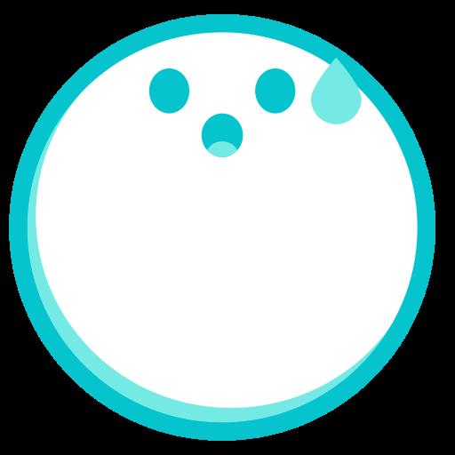 Cold Sweat, Fill, Multicolor Icon