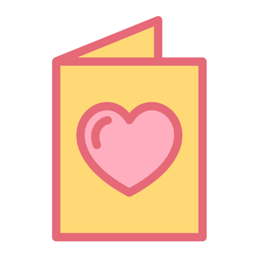Invitation, Letter, Love Icon