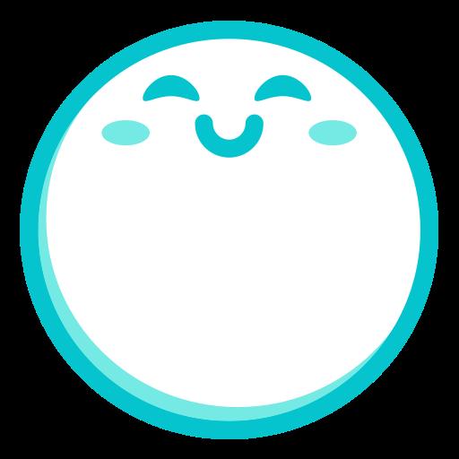 Fill, Multicolor, Round Icon