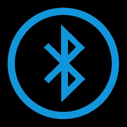 Icon 0009   8, Bluetooth, Document Icon