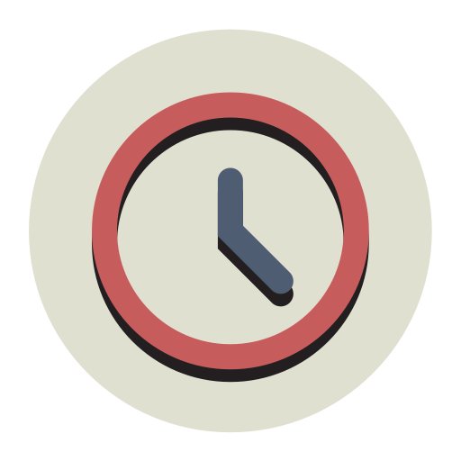 Time-svg-fill-flat Icon