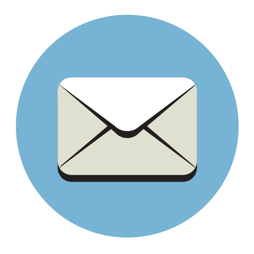 Mail, Fill, Flat Icon