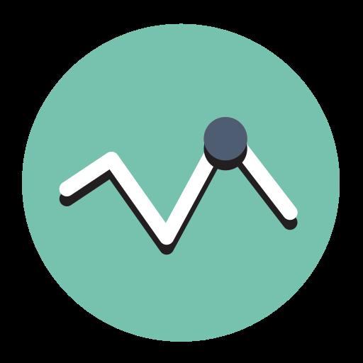 Data Report, Fill, Flat Icon