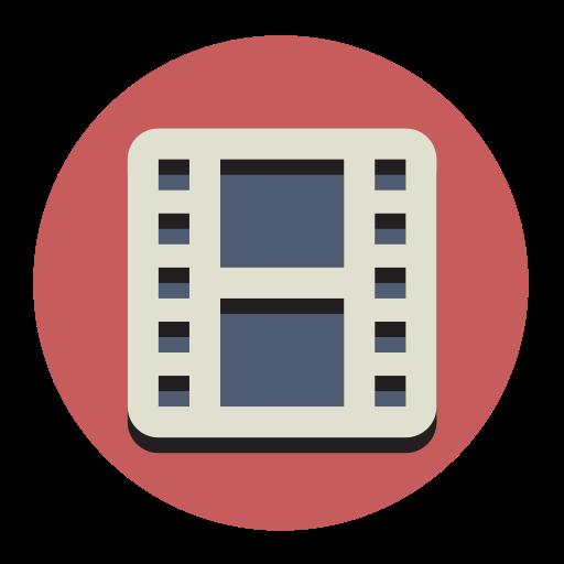 Film, Fill, Flat Icon
