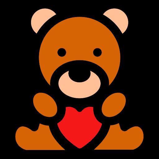 Bear Heart, Bear, Play Icon