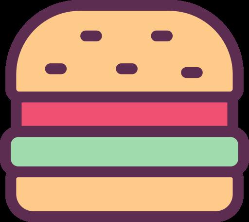 Hamburger, Fill, Linear Icon