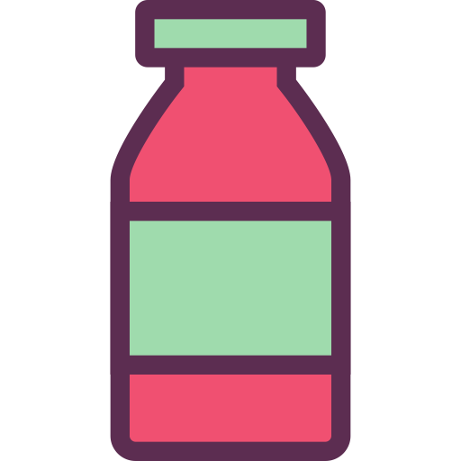 Bottle, Care, Health Icon