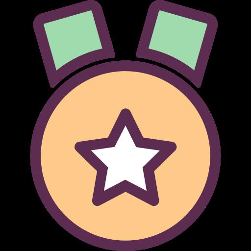 Medal, Prize, Raking Icon