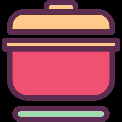 Pot, Soup, Spoon Icon