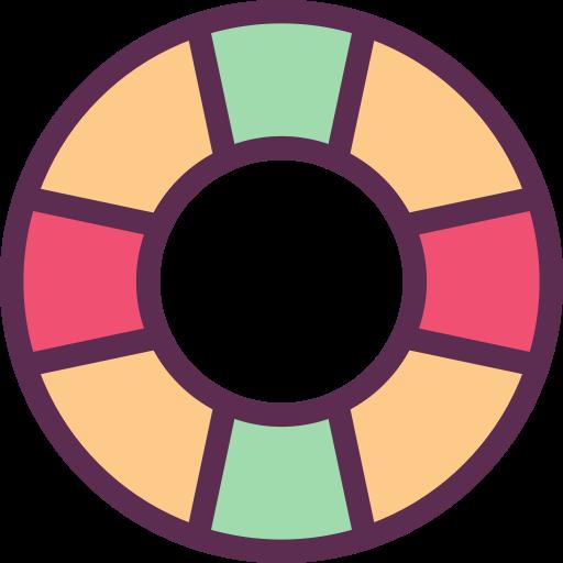 Swim Ring, Swim, Trunks Icon