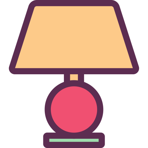 Table Lamp, Light, Illumination Icon