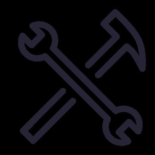 Techniques,  Tools,  Settings Icon