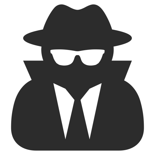anonymous  hacker icon with png and vector format for