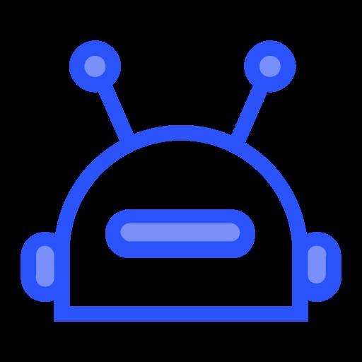 Bot, Linear, Multicolor Icon