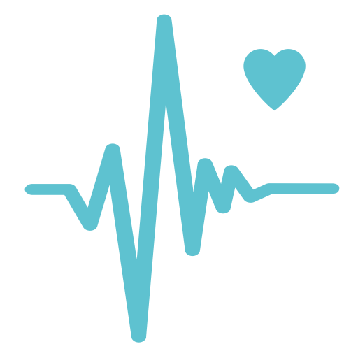 Heart Health Index, Heart Health, Heart Monitor Report Icon